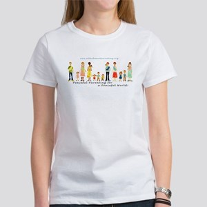Women's T-Shirt with API Families Logo