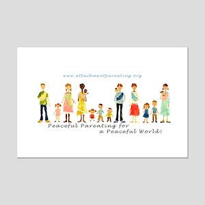 Mini Poster 11 X 7 with API Families