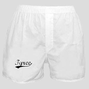 Vintage Tyree (Black) Boxer Shorts