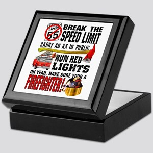 Make sure a Firefighter Keepsake Box