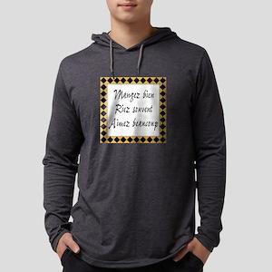 Mangez Riez Aimez Long Sleeve T-Shirt