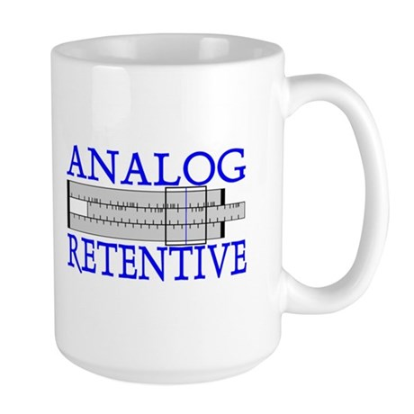 ANALOG RETENTIVE Large Mug
