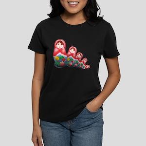 Springtime Nesting Doll Women's Dark T-Shirt