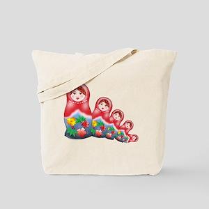 Springtime Nesting Doll Tote Bag
