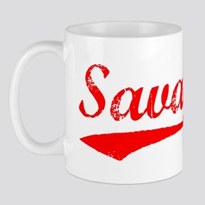Vintage Savage (Red) Mug