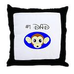 *1 DAD Throw Pillow