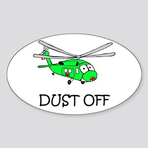 UH-60Q Oval Sticker