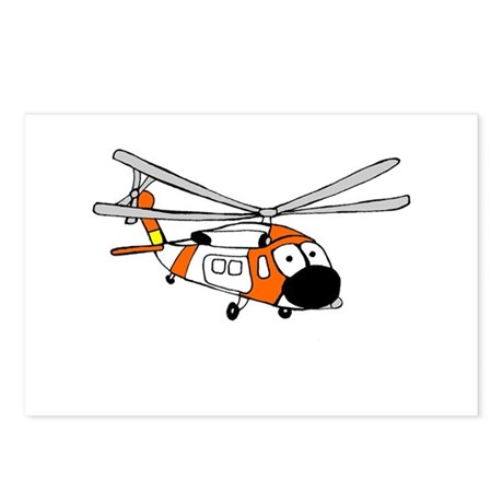 HH-60 Coast Guard Postcards (Package of 8)
