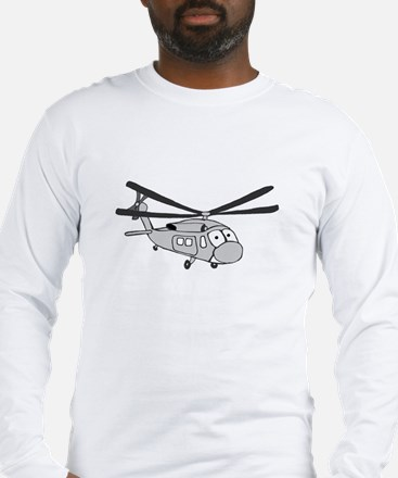 HH-60 Gray Long Sleeve T-Shirt