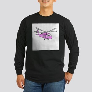UH-60 Girly Long Sleeve Dark T-Shirt