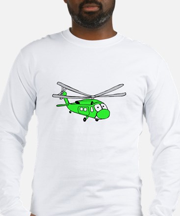 UH-60 Green Long Sleeve T-Shirt