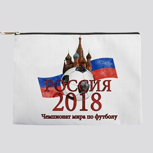 Russia Football World Cup Makeup Bag