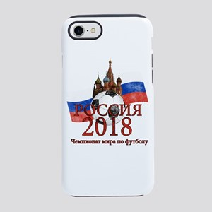 Russia Football World Cup iPhone 8/7 Tough Case