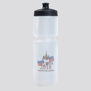 Russia Football World Cup Sports Bottle