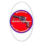 Infringement Oval Sticker