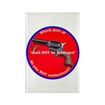 Infringement Rectangle Magnet (100 pack)