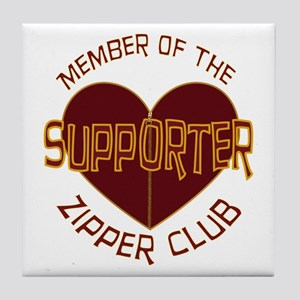 Supporter Tile Coaster