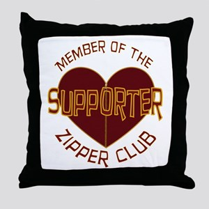 Supporter Throw Pillow