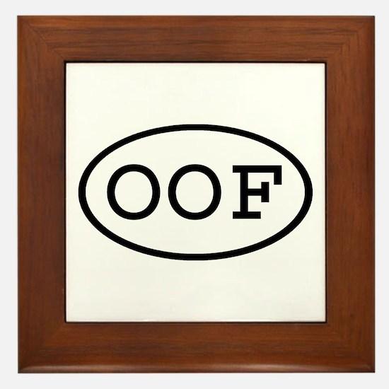 OOF Oval Framed Tile