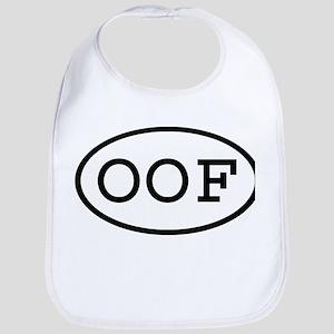 OOF Oval Bib