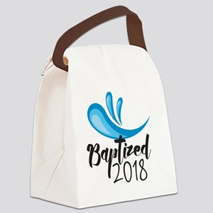 Baptized 2018 Canvas Lunch Bag
