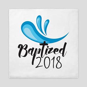 Baptized 2018 Queen Duvet