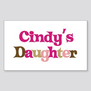 Cindy's Daughter Rectangle Sticker