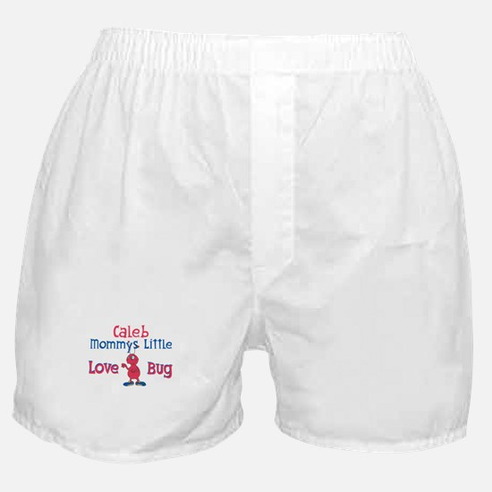 Caleb - Mommy's Love Bug Boxer Shorts