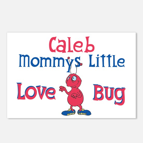 Caleb - Mommy's Love Bug Postcards (Package of 8)