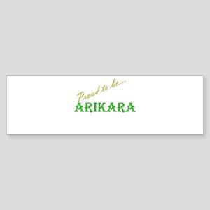 Arikara Bumper Sticker (10 pk)