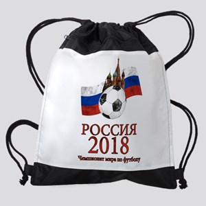 Russia Football World Cup Drawstring Bag