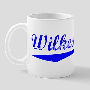 Vintage Wilkes Barre (Blue) Mug