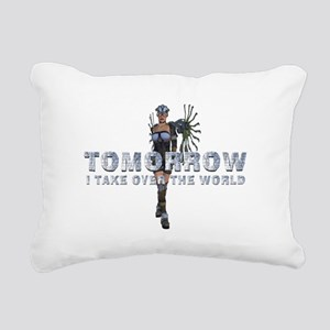 Rule the World Rectangular Canvas Pillow
