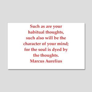 Marcus Aurelius quote Wall Decal