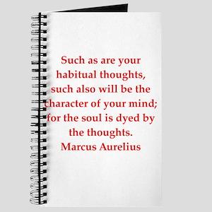 Marcus Aurelius quote Journal