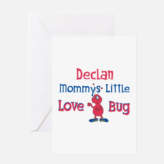 Declan - Mommy's Love Bug Greeting Card