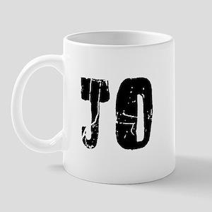 Jo Faded (Black) Mug