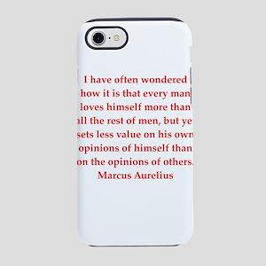 Marcus Aurelius quote iPhone 8/7 Tough Case