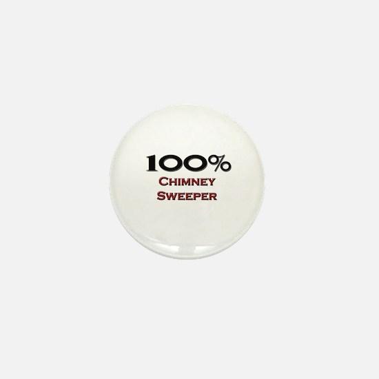 100 Percent Chimney Sweeper Mini Button