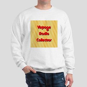 Vintage Radio Collector Sweatshirt