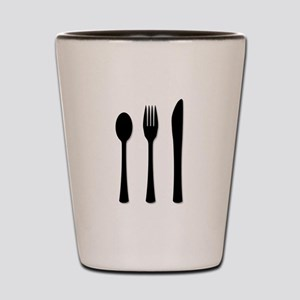 Knife Fork And Spoon Shot Glass