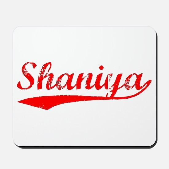 Vintage Shaniya (Red) Mousepad