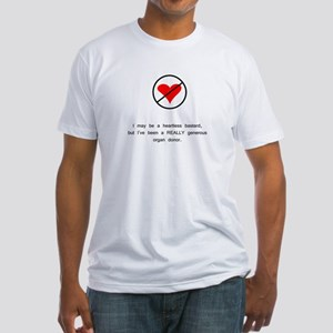 Generous Organ Donor Fitted T-Shirt