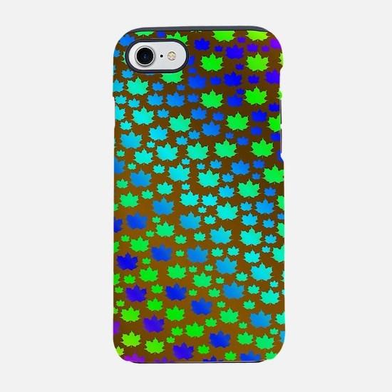 gold, purple, blue, canada, iPhone 8/7 Tough Case