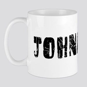 Johnathan Faded (Black) Mug