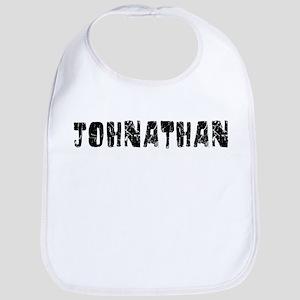 Johnathan Faded (Black) Bib