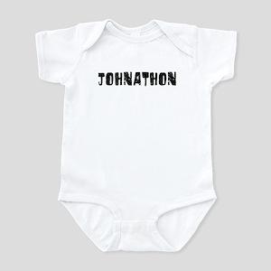 Johnathon Faded (Black) Infant Bodysuit