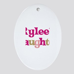 Rylee's Daughter Oval Ornament
