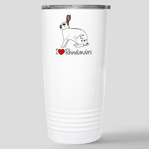 I Heart Rhinelander Rabbits Mugs