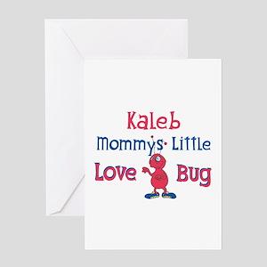 Kaleb - Mommy's Love Bug Greeting Card